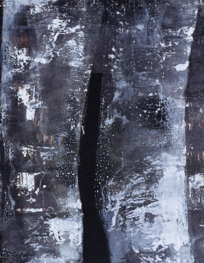 encre, goudron, acrylique | 60x60cm