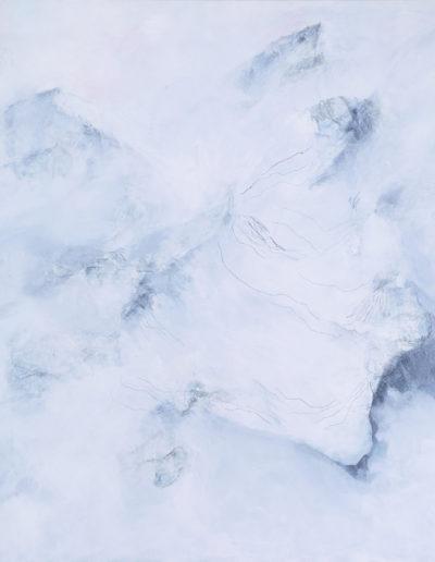 huile, pigments, graphite, encre | 140x140cm