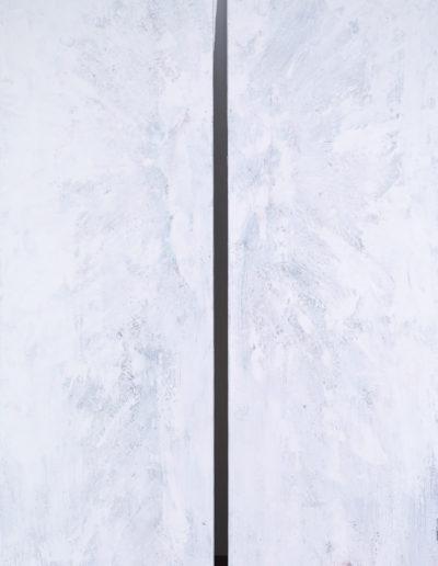 encaustique, acrylique | dytique 2x60x180cm