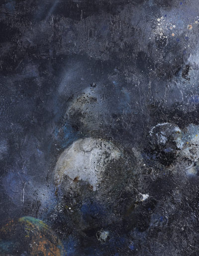 goudron, encre, acrylique, huile | 60x80cm
