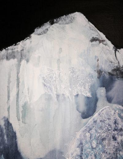 acrylique, encres, pigments |  60x80cm