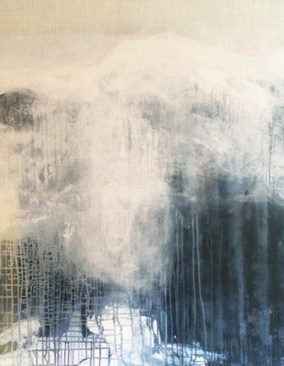 acrylique, encres, pigments | 140x140cm