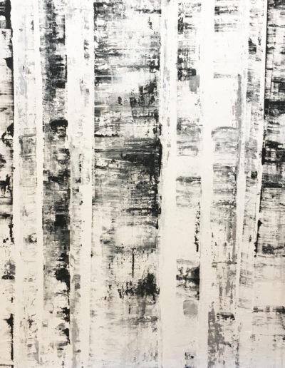 goudron, encre, acrylique | 100x180cm