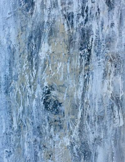 encaustique, mixed media | 40x120cm